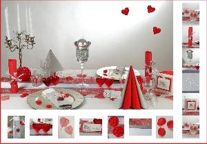Hochzeit Tischdeko Mustertische Silber
