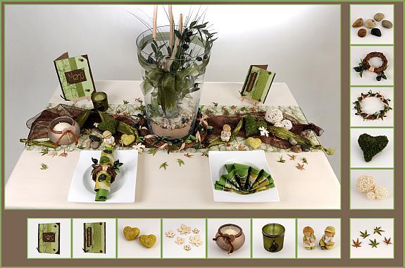 Tischdekoration » Tischdeko Herbst Tische Pictures