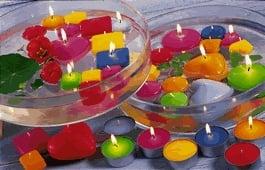 Kerzen und kerzenhalter zur tischdeko online kaufen bei for Schwimmkerzen kaufen