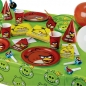 Partykette Angry Birds Happy Birthday