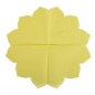 15er Pack Japan Servietten in Lemon-Gelb, 30 cm.
