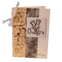 Einladungskarte Zu Silvester In Creme, Schwarz