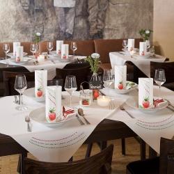 Tischdeko restaurant ideen