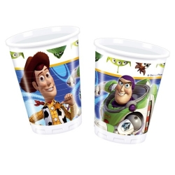 10er Pack Becher Toy Story