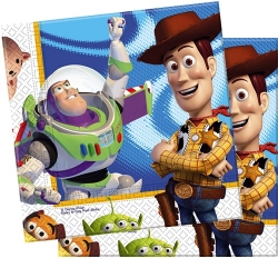 20er Pack Toy Story Servietten 33 x 33 cm