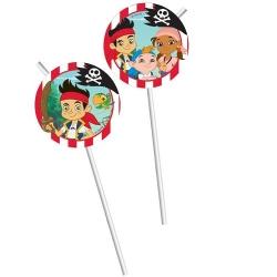 kindergeburtstag jake und die nimmerland-piraten im tafeldeko shop, Einladungsentwurf