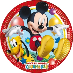 8er Pack Teller Playful Mickey 23 cm