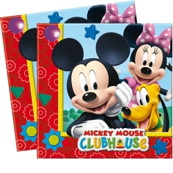 20er Pack Servietten Playful Mickey 33 x 33 cm