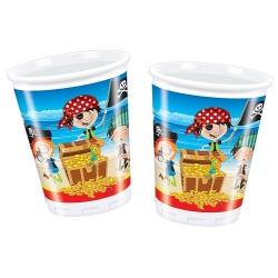 10er Pack Becher Little Pirates