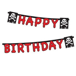 Partykette Little Pirates Happy Birthday