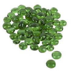 Glaslinsen zur Tischdeko in Grün