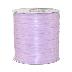 100 m Bastband Rayon Raffia matt in Orchidee