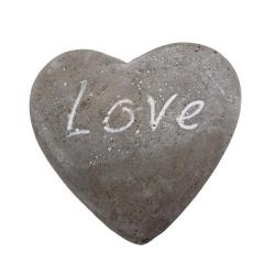 Dekostein in Herzform -Love-