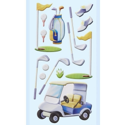 Klebe Softy Sticker Golf
