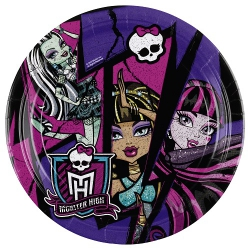 8er Pack Teller Monster High 23 cm