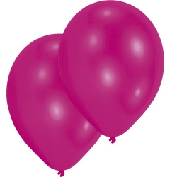 10er Pack Luftballons in Pink