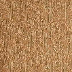 15er Pack Servietten Elegance bronze, 33 x 33 cm