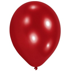 10er Pack Luftballons in Rot