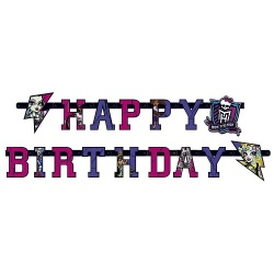 Partykette Monster High Happy Birthday
