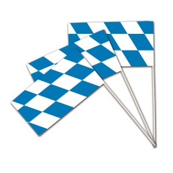 Fahne Bayern Raute Oktoberfest, 39,5 cm