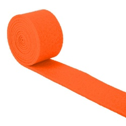 1,5 Meter Filzband in Orange, 40 mm