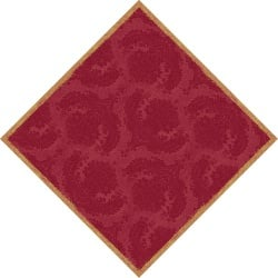 Duni Dunisilk Mitteldecken Royal Bordeaux