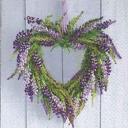 Motto Deko Lavendel Tafeldeko De