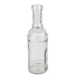 Glas Flaschenvase Ornament, 20 cm, Nr. 2