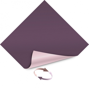 Duni Dunicel 2 in 1 Wende-Mitteldecken in Plum/Soft Violet