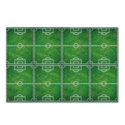 Tischdecke Fußballfelder in Grün, 120 x 180 cm