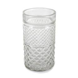 Glas Vase Windlicht Kiss Nr. 4, 12 cm