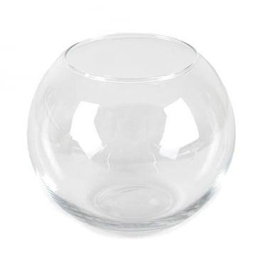Glas Vase Kugel, Größe S, 11,5 cm