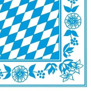 duni bayrische raute f r eine rundum gelungene bayrische tischdekoration. Black Bedroom Furniture Sets. Home Design Ideas