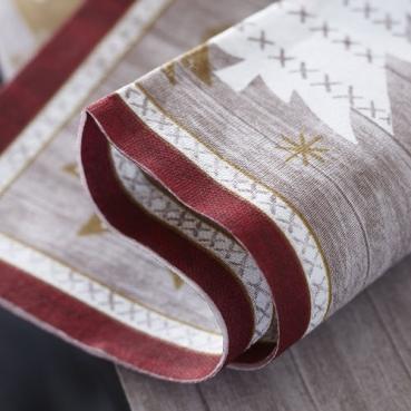Duni dunilin servietten alpenchic 40 x 40 cm for Duni servietten weihnachten