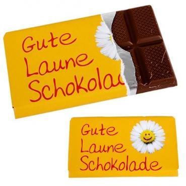 Gastgeschenk -Gute Laune Schokolade-