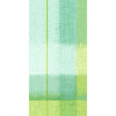 Duni Dunisoft Servietten Endless Summer Green, ⅛ Falz, 20 x 40 cm