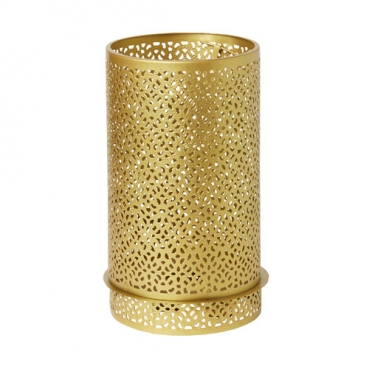 Duni Metall Kerzenhalter Bliss in Gold, 20 cm