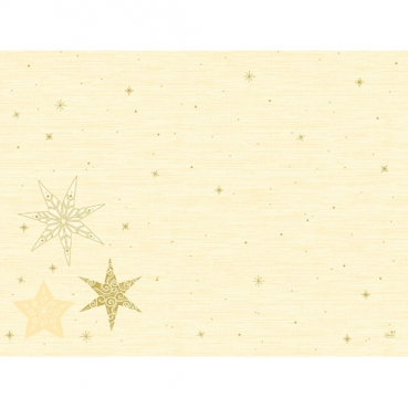 Duni Dunicel Tischsets Star Stories Cream, 30 x 40 cm