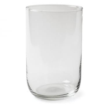 Glas Windlicht, Vase Zylinder Davinci, klar, 21 cm