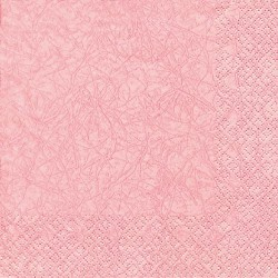 20er Pack Servietten Modern Colors rosa, 33 x 33 cm