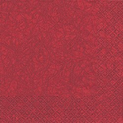 20er Pack Servietten Modern Colors bordeaux, 33 x 33 cm