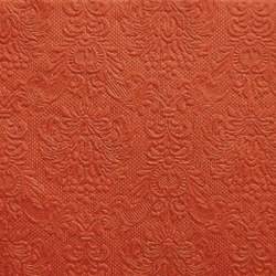 15er Pack Servietten Elegance orange, 33 x 33 cm