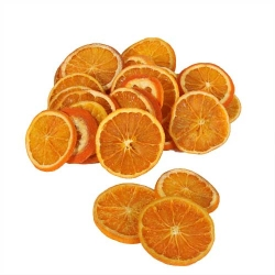 Getrocknete Deko Orangen Scheiben