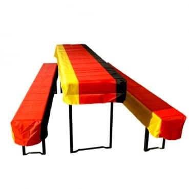 2 7 meter fahnenkette fu ball deutschland fahne. Black Bedroom Furniture Sets. Home Design Ideas
