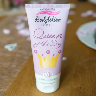 Naturkosmetik Bodylotion -Queen of the Day-