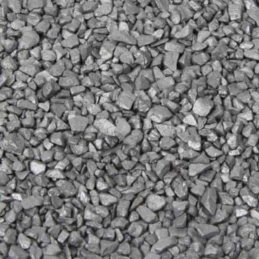 Deko Granulat in Silber, 1 kg