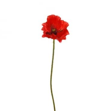Kunstblume Mohn, 44 cm