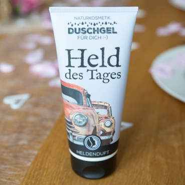 Naturkosmetik Duschgel -Held des Tages-
