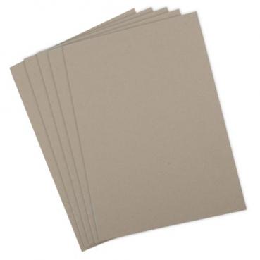 5 Einlegeblätter A4, Vintage, zum Basteln, Bedrucken in Hellbraun, Artoz Qualitätspapier 100gm2