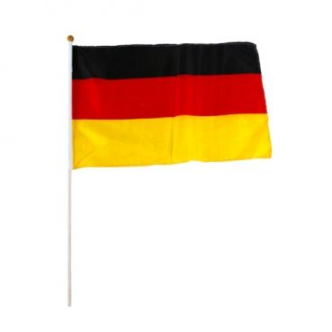 Deutschland Fahne, Fußball, 30 x 45 cm